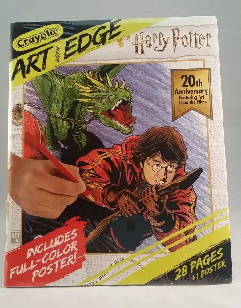Crayola Art With Edge Harry Potter 20th Anniversary Poster