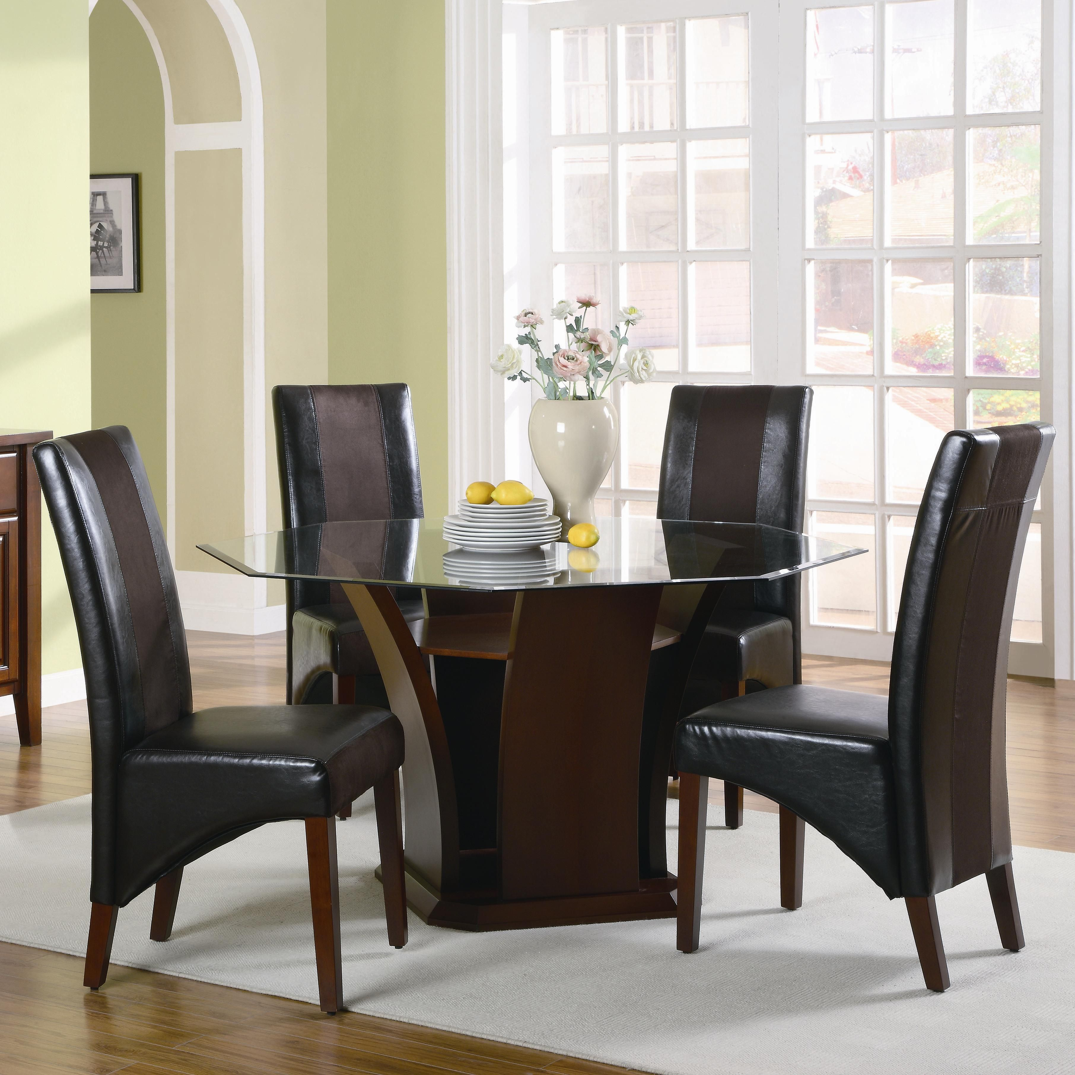 Rodeo Five Piece Dining Set By Coaster Dining Room Pinterest