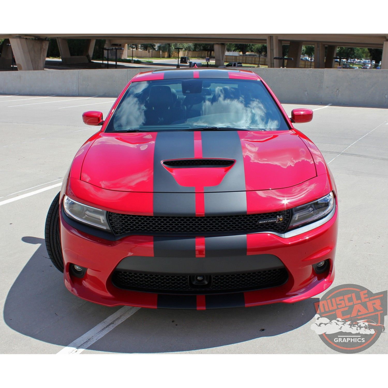 2 Red HELLCAT Emblems fits 2015 2016 2017 2018 2019 Dodge Challenger Charger