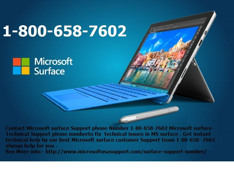 If you are unable to resolve related to Microsoft Surface Problem - microsoft surface support number
