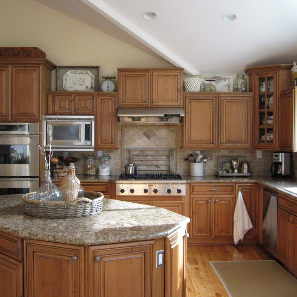 Decorating Above Kitchen Cabinets With High Ceilings | http://avhts ...