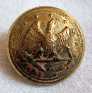 Details about Civil War Confederate Virginia Scovill Mfg Co  Gold