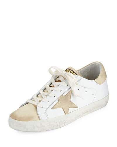 Leather sneakers, Golden goose sneakers