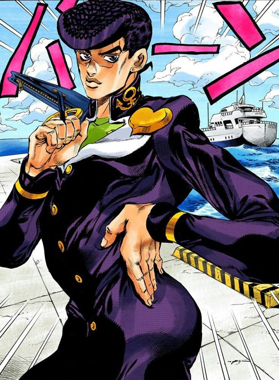 Josuke Pose Jojos Bizarre Adventure Diamonds Are Unbreakable