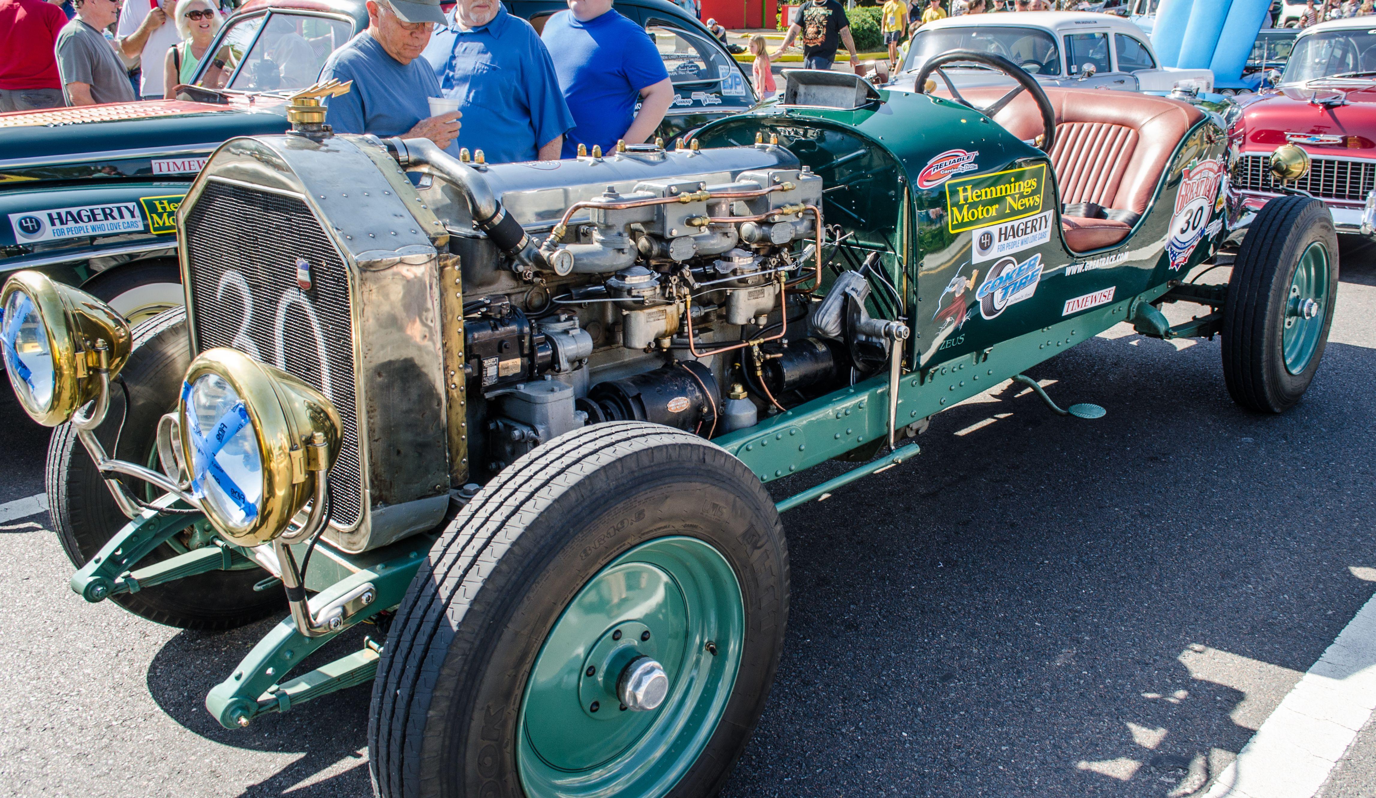 Hudson Great Race Jacksonville Florida Start Line - Cool cars florida