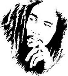 Bob Marley Beroemdheden Plotterpatronen Bob Marley Art Silhouette Art Bob Marley Pictures