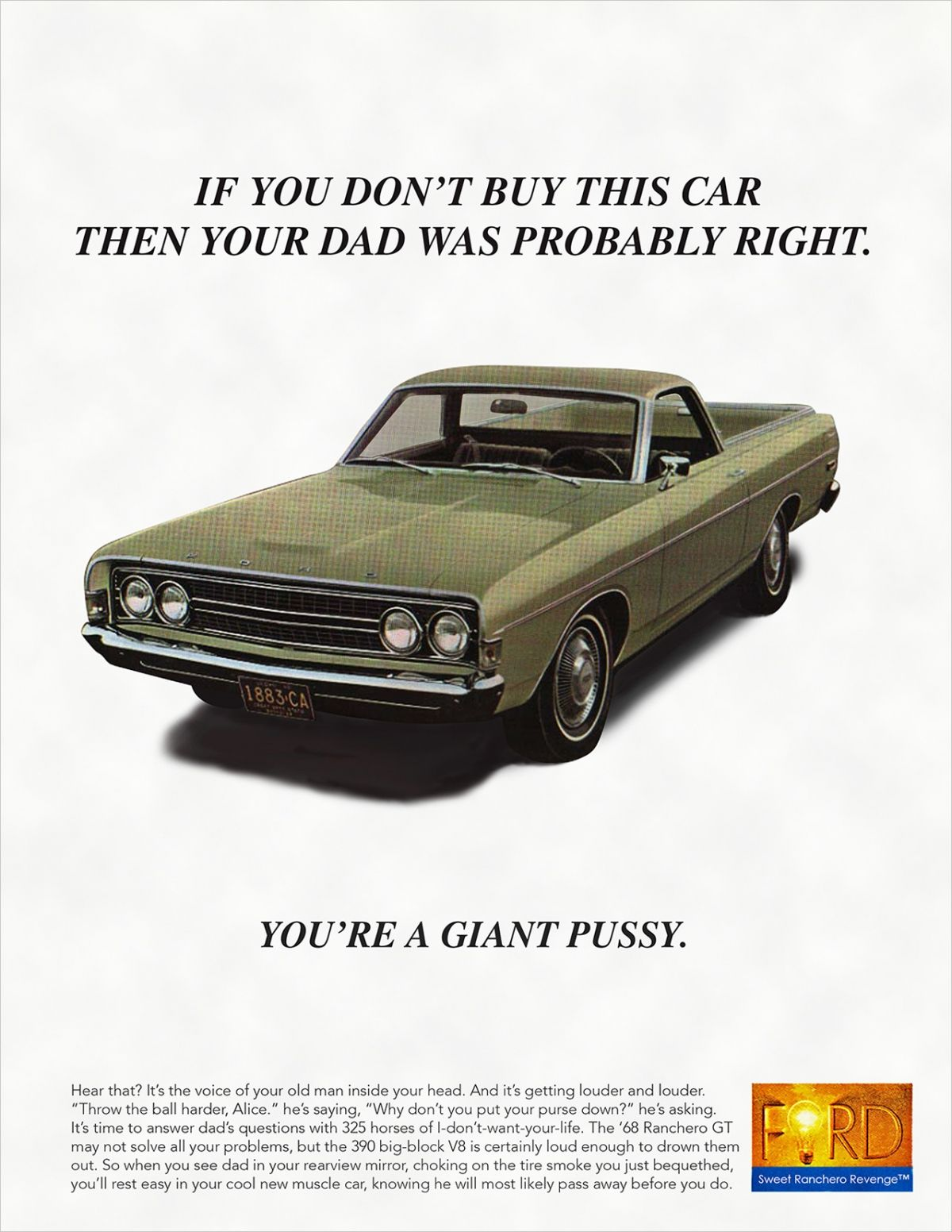This Art Director Is Selling His 1968 Ford Ranchero by