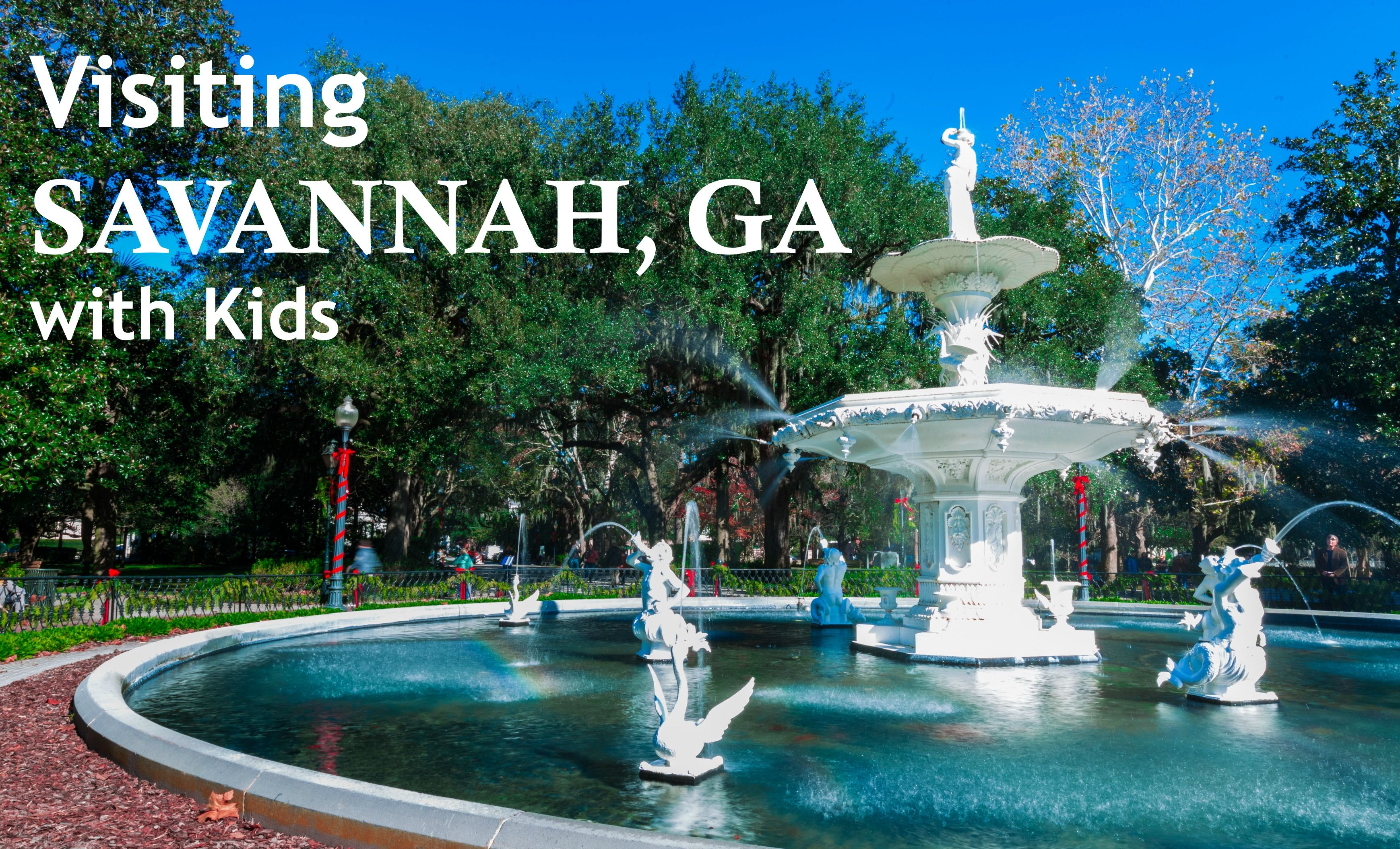 Georgia Best Places To Vacation Savannah Chat Savannah Attractions