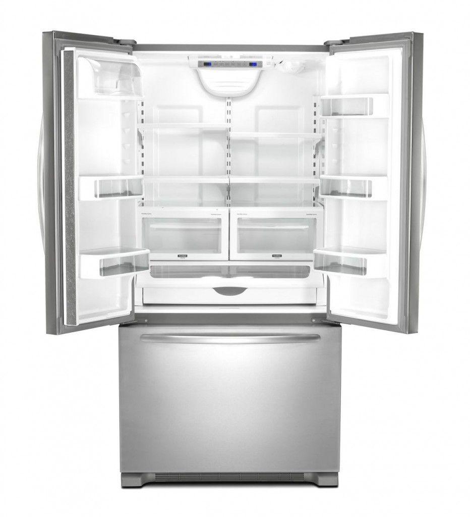 Kitchenaid Counter Depth French Door Refrigerator Empty Fridge