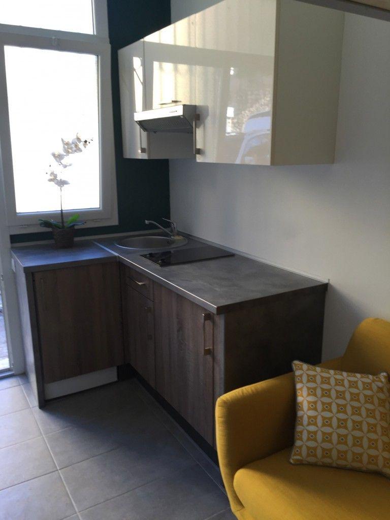 Cuisine Amenagee Studio Deco Mezzanine Deco Maison Mobilier De