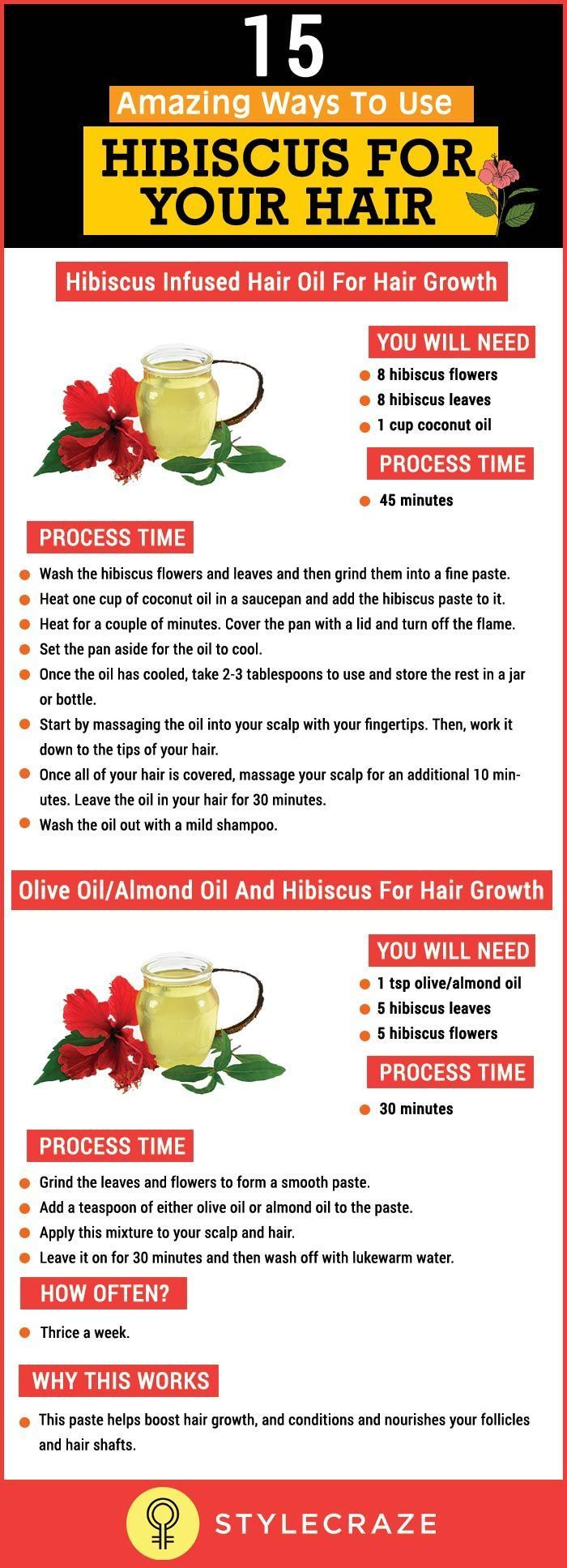 15 Amazing Ways To Use Hibiscus For Your Hair advise