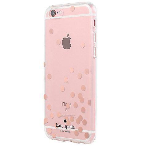 Buy kate spade new york Hardshell Case for iPhone 6/6s, Confetti Dot Rose · Gold  Foil6 ...