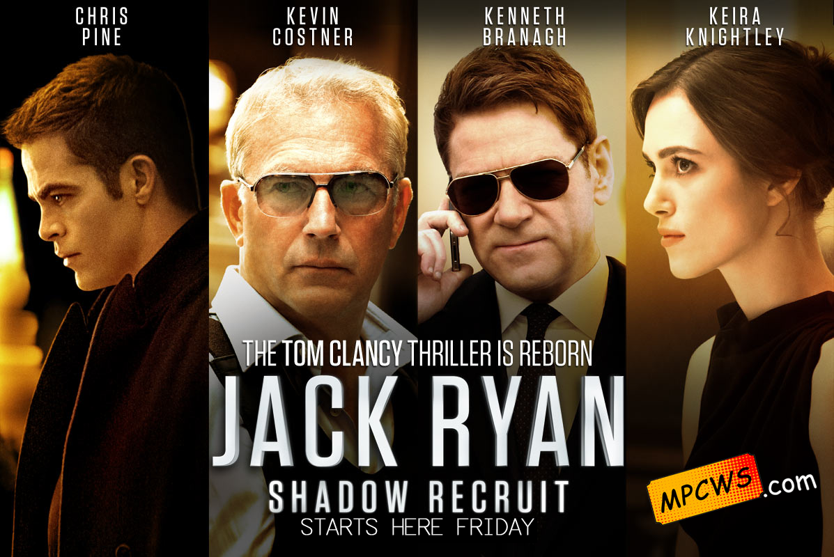 Starting Here Friday March 21st Jack Ryan Shadow Recruit And The Wolf Of Wall Street Jack Ryan Shadow Recruit Chris Pine Movies Chris Pine