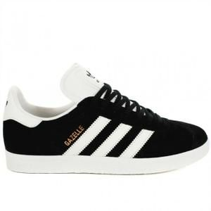 check-out 28549 42fc7 ADIDAS ORIGINALS Baskets Gazelle - Homme - Noir et Blanc en ...