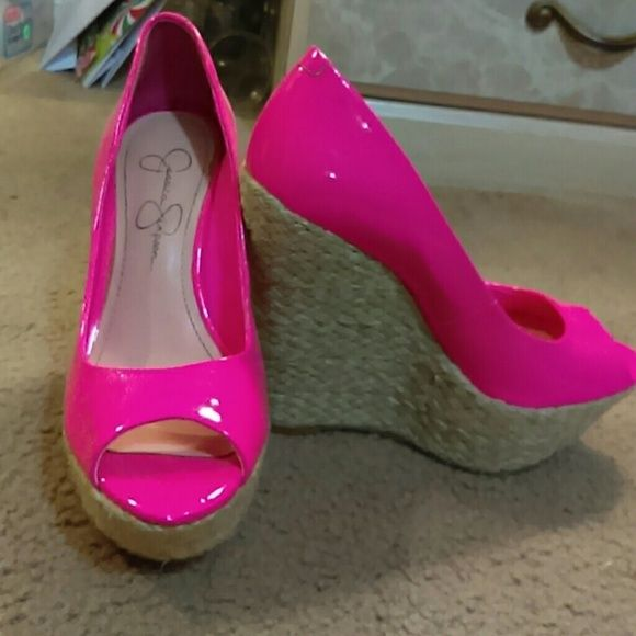 Jessica simpson wedge shoes heels Heels they look great best offer worn 2 times Jessica Simpson Shoes Heels