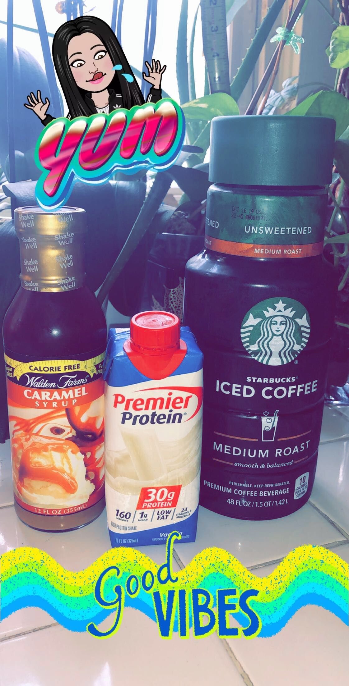 Healthy premier protein coffee syrup starbucks iced