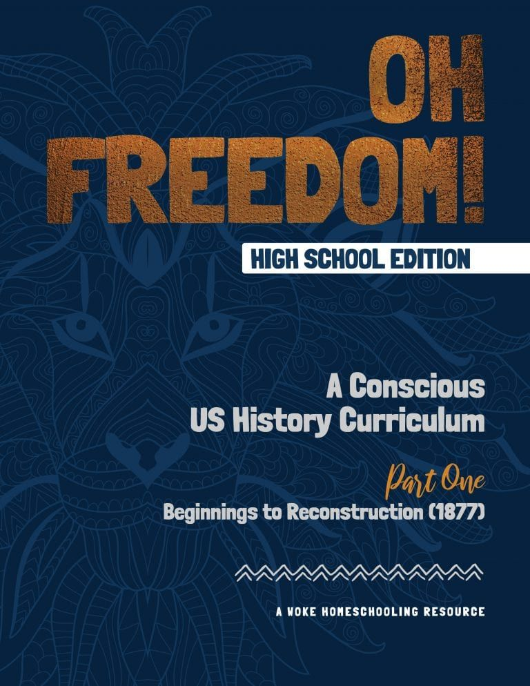 Oh Freedom High School Edition Our High School Curriculum Is 36 Weeks Of U S History Lessons For Teens 8th 12th Gra History Curriculum High School Homeschool