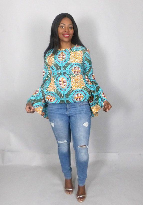 Dashki Fabric African Fashion Ankara Kitenge African: NEW IN African Clothing,African Print Top,high Low Top