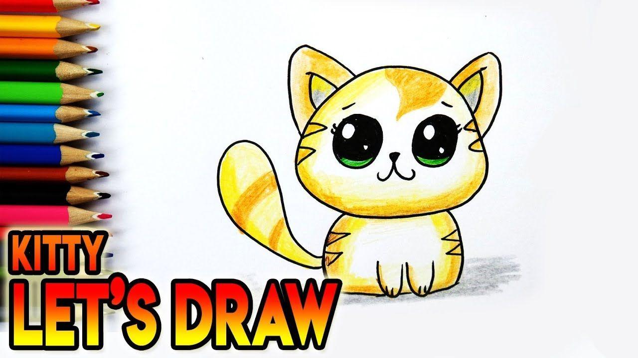 Hoe Teken Je Een Schattig Kawaii Katje Tekenen Voor Beginners Youtube Tekenen Leer Tekenen Katje