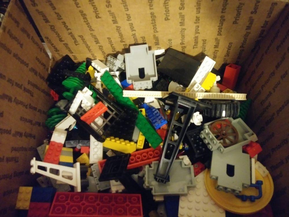 Lego Bulk Lots 5 lbs to 20 lbs Assorted Genuine Building Bricks Parts /& Pieces
