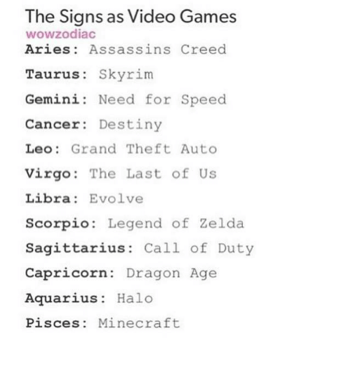 Assassin S Creed Zodiac Signs Google Zoeken
