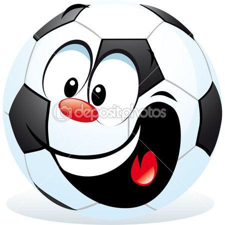 Cartoon Soccer Ball Stock Illustration 17432663 Smiley Emoticon Smiley Whatsapp Lustig