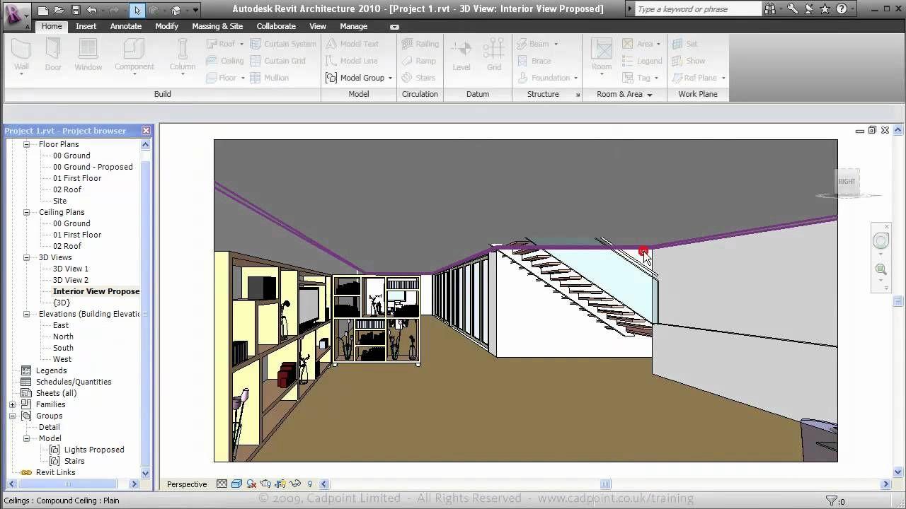 Revit Architecture For Residential Interior Design 2 Revit Architecture Architecture Residential Interior Design