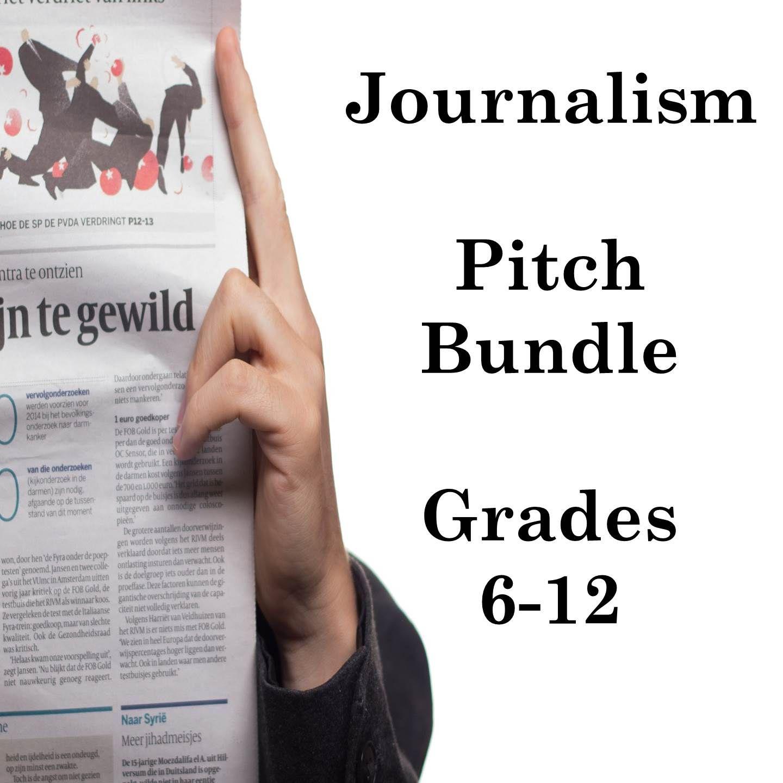 Journalism Bundle Pitch