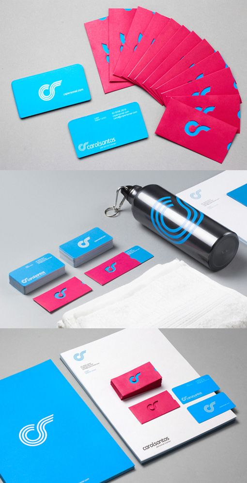 Dymanic Die Cut Interactive Business Card For A Personal Trainer ...