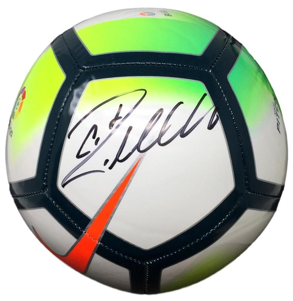 Cristiano Ronaldo Real Madrid Signed Nike Soccer Ball BAS K35305  Futbol   Soccer ecd4261b2