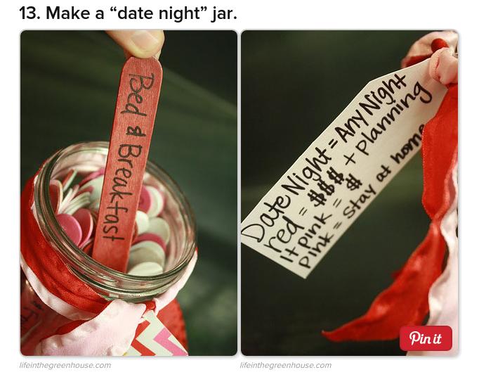 Make a ¨date night¨ jar
