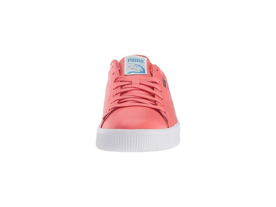 uk availability d8fec b73c4 PUMA Clyde - Pink Dolphin Men's Shoes Porcelain Rose ...
