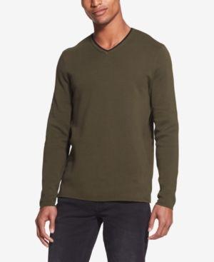 85530 Bugatti Uomo Knit V-Neck Cotton Mix Pullover for men #style no