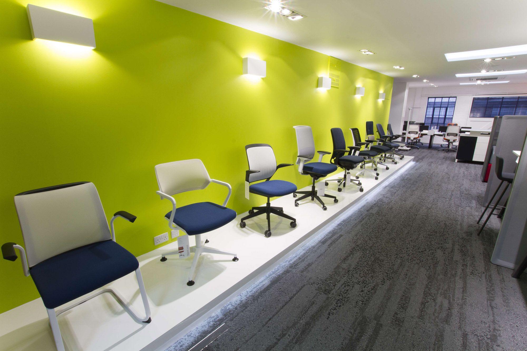 Hunts Office Furniture Showroom Steelcase Worklife