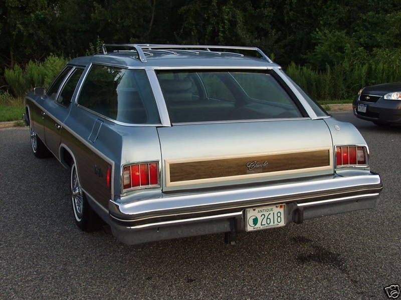 1976 Chevrolet Caprice Estate, featuring the very cool