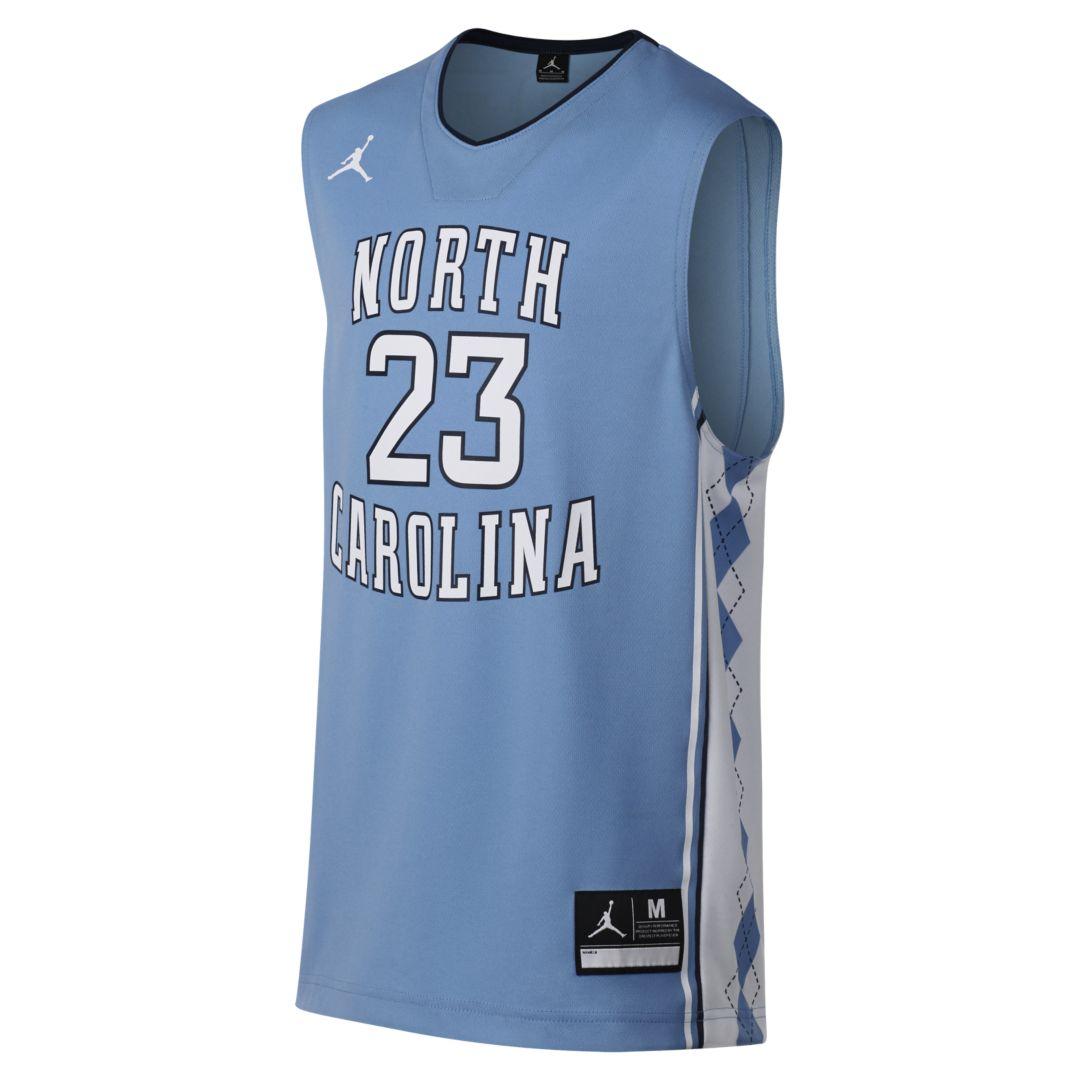 2aebd439 Jordan Replica (UNC) Big Kids' Basketball Jersey in 2019 | Products ...