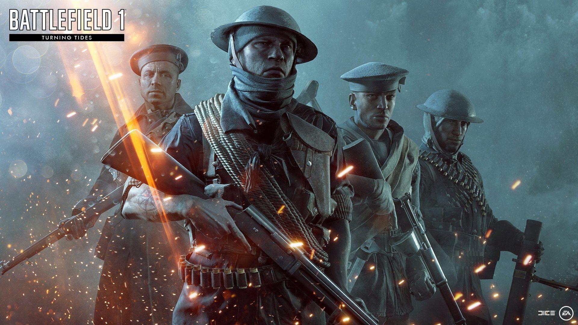 الطريق إلى Battlefield V مليء بالـ Dlc المجانية Battlefield 1