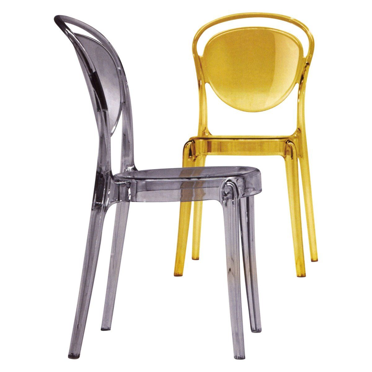 Calligaris Parisienne Dining Chair - Set of 2 - Casual Dining Chairs at Hayneedle 482  sc 1 st  Pinterest & Calligaris Parisienne Dining Chair - Set of 2 - Casual Dining Chairs ...