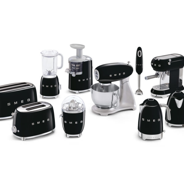 Espresso Machine Black Smeg Store Euro Line Appliances Small