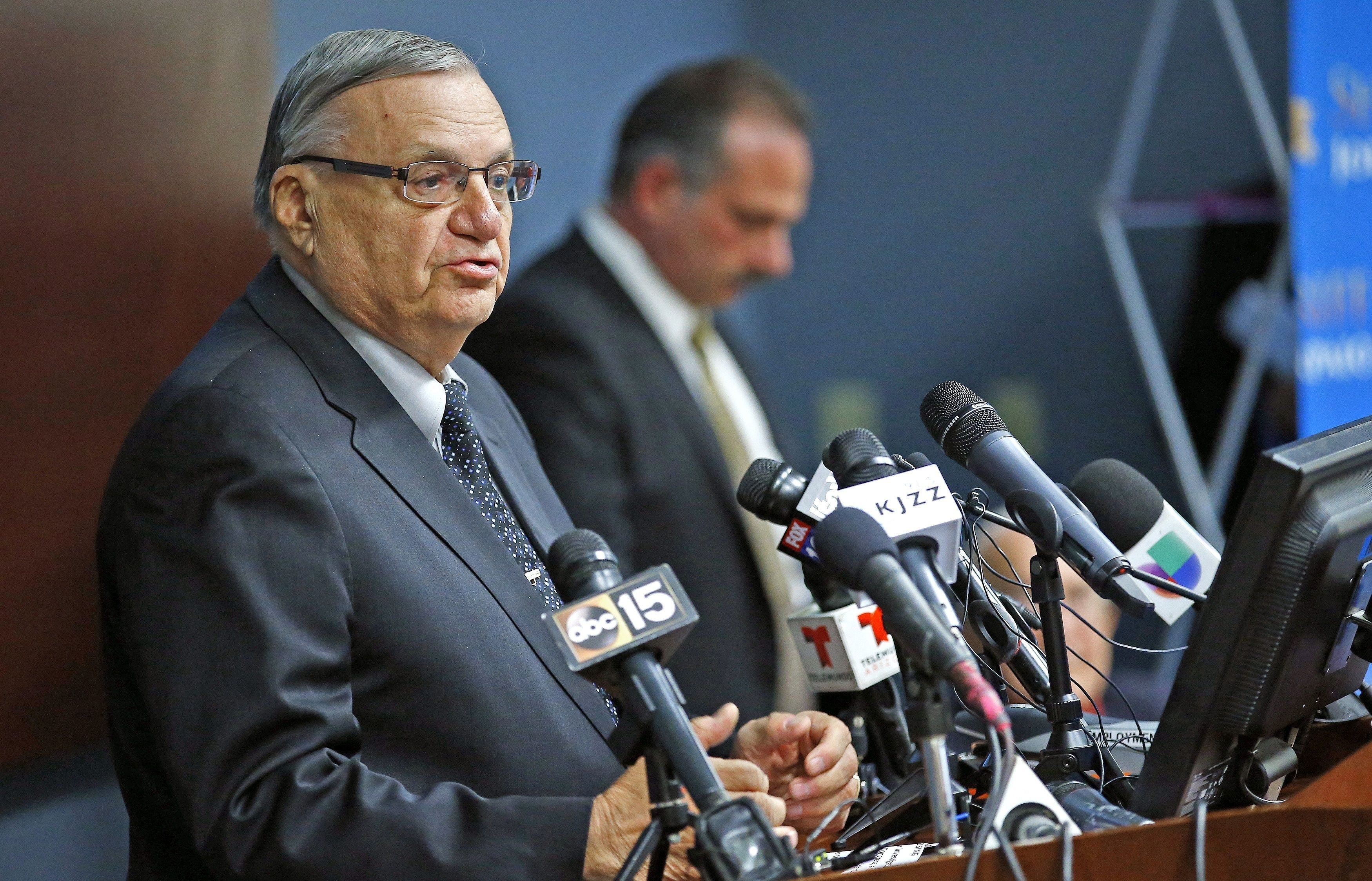 Sheriff joe arpaio says president obamas birth certificate is maricopa county ariz sheriff joe arpaio announced the end of his five xflitez Gallery