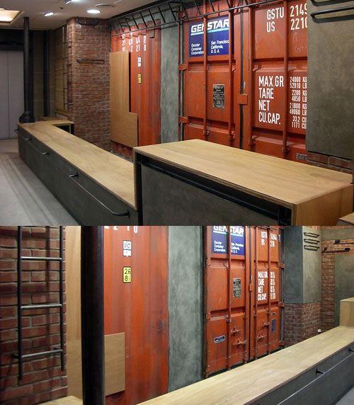 Custom Shipping Container Car Garage: Container Door For Front Door