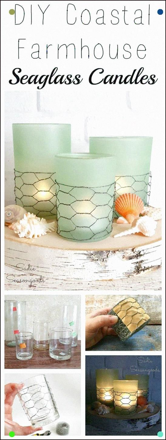 Photo of Creating These On-Trend Coastal Farmhouse Candles Couldn't Be Easier Grab Some P…