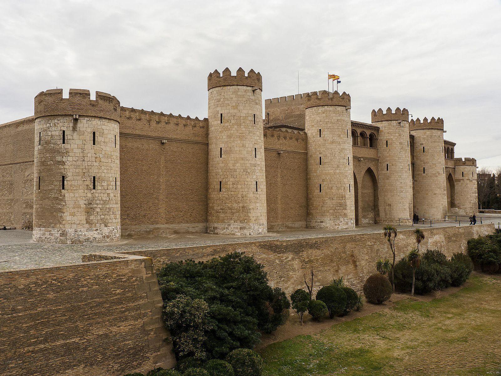 Aljafería Palace. Zaragoza, Aragon, Spain