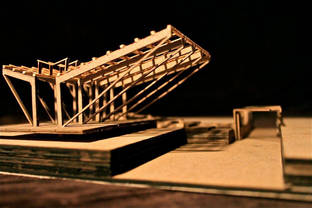 Architecture portfolio, Architecture, Model building