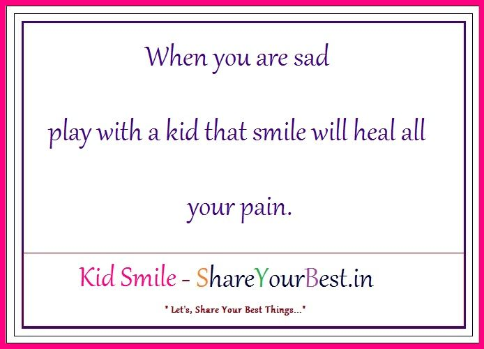 Kid Smile – ShareYourBest.in