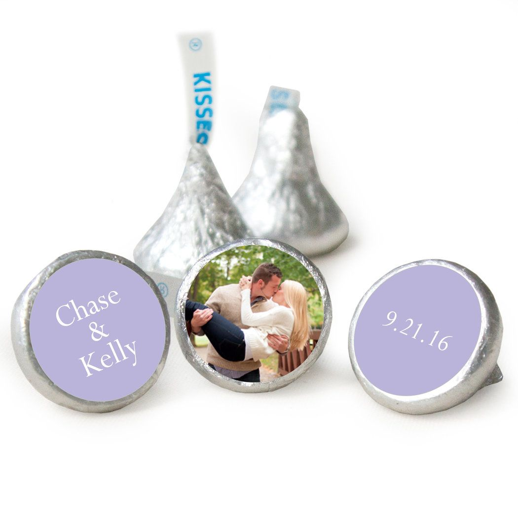 Add Your Photo Rehearsal Dinner HERSHEY\'S KISSES Candy Assembled ...