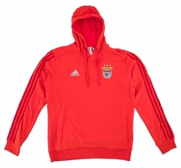 wholesale dealer 4259e 42708 S.L.BENFICA Official ADIDAS Red Cotton SWEAT HOODY Training ...
