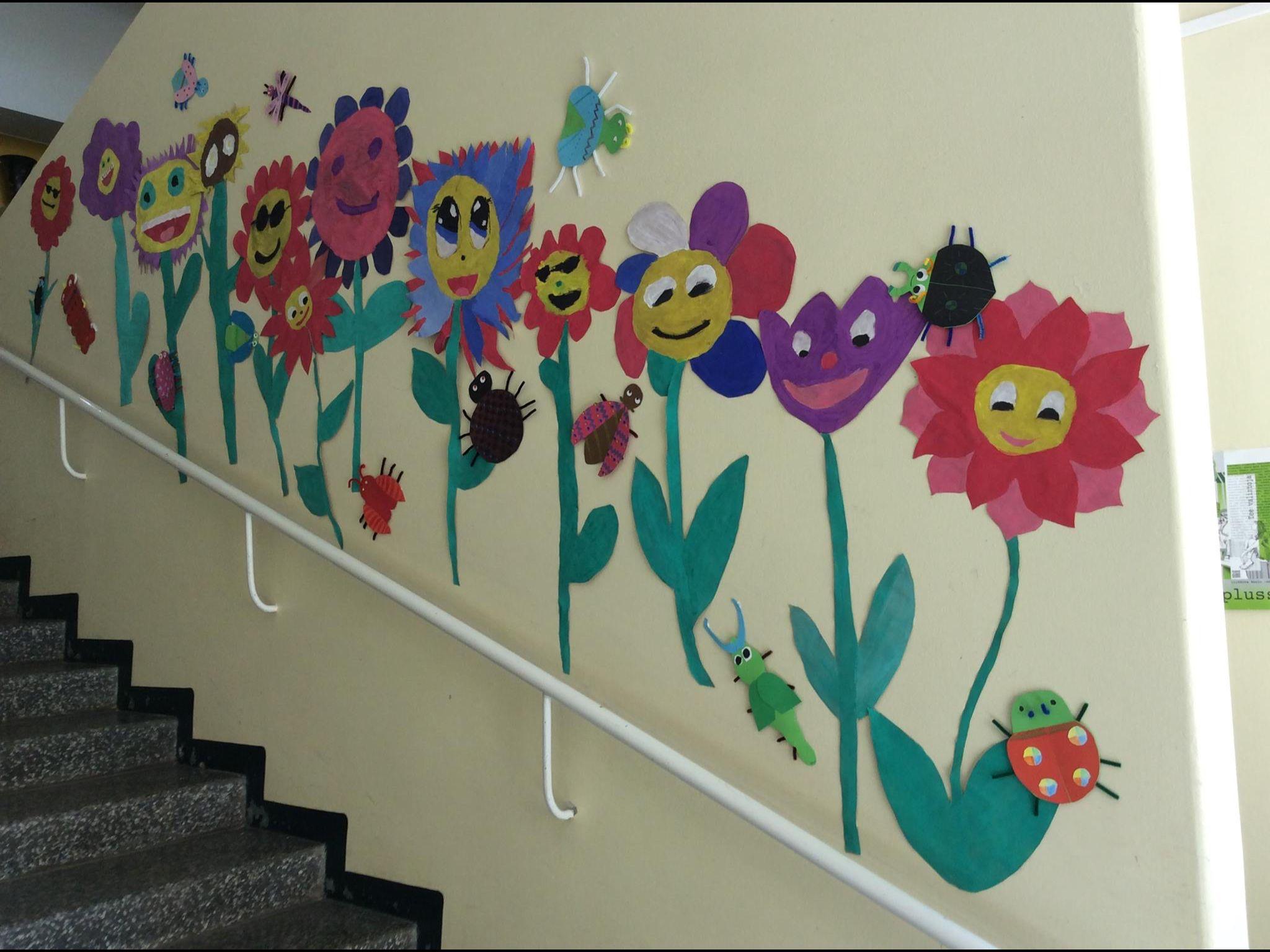 Kesä, kukat, koulu