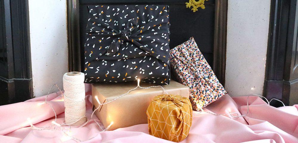 TUTO : le furoshiki, l'emballage cadeau zéro déchet - Kesi'Art - le Blog