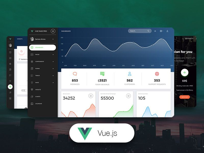 Get 30% Off Vue Now UI Dashboard PRO Coupon Code  [creative-tim